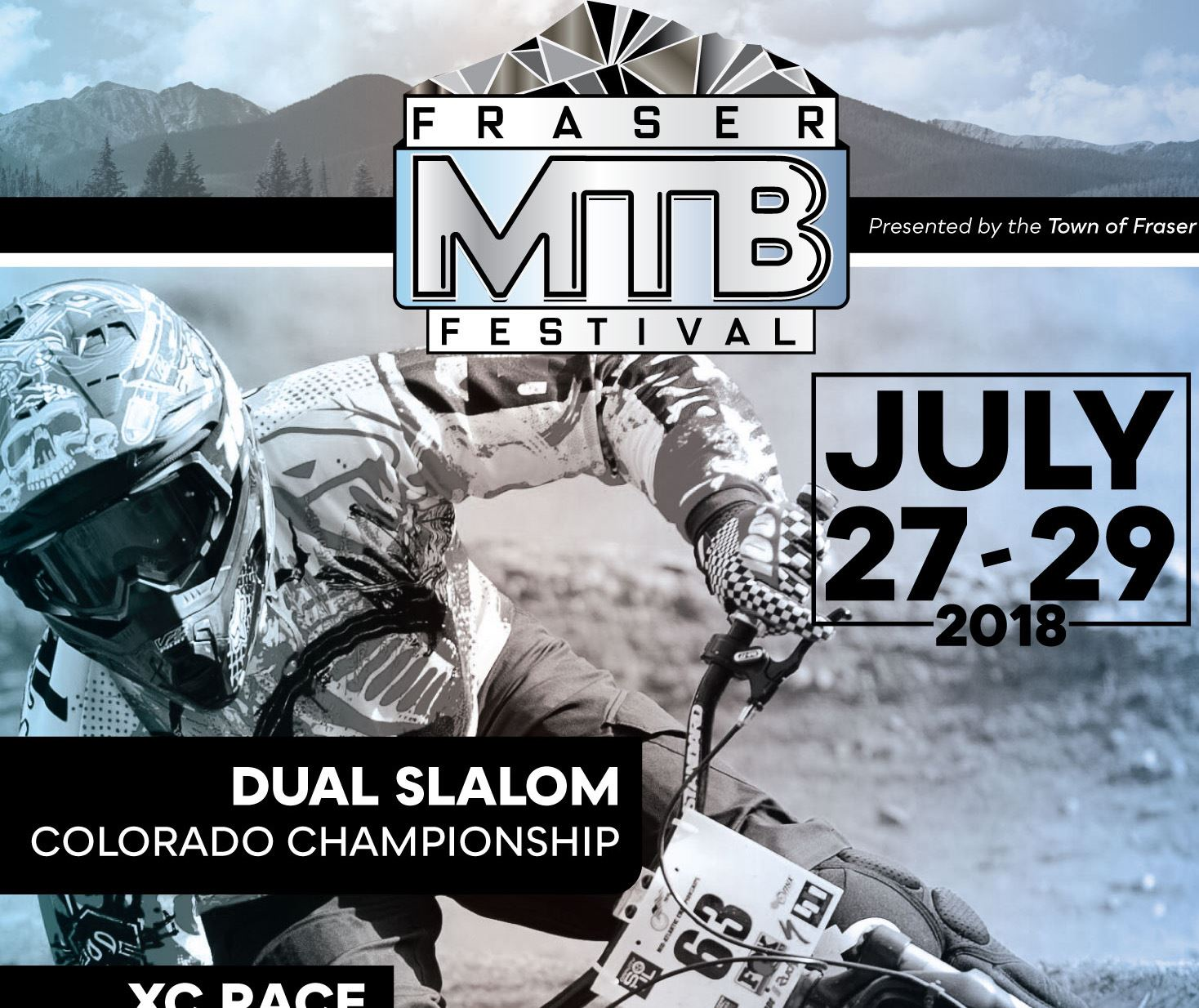 Fraser Mountain Bike Fest Poster